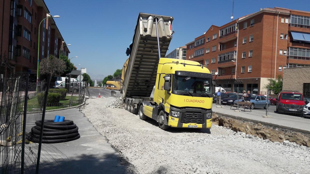 Asfaltado y mejora de varias calles de Ávila