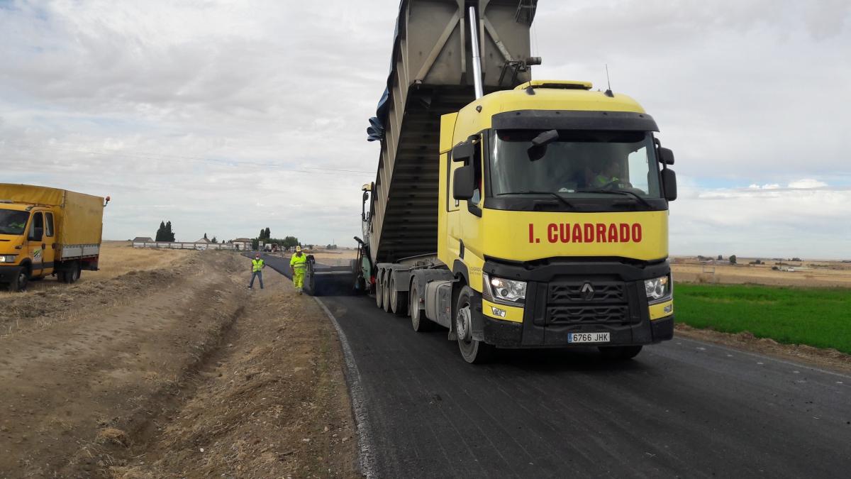 Acondicionamiento de la carretera provincial AV-P-129ª: Horcajo de las Torres-Madrigal de las Altas Torres (Ávila)