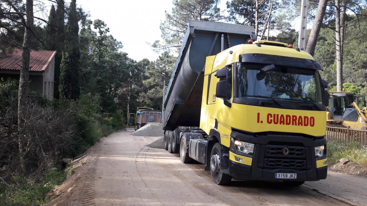 Acondicionamiento del aparcamiento de la Nieta fase I (Ávila)