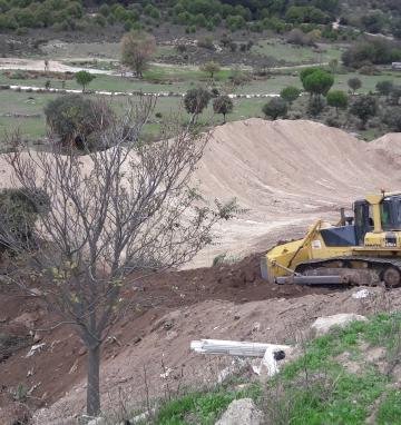 Restauración de la escombrera de Sotillo de la Adrada (Ávila)
