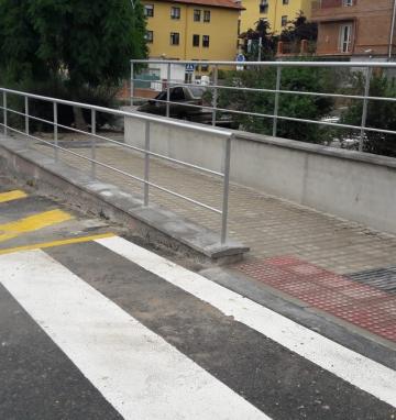 Mejora de la circulación y de la accesibilidad en las calles Santa Rita y Monte del Fraile. San Lorenzo de El Escorial (Madrid)