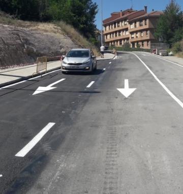 Modificación de trazado de la calle San Gabriel y acceso a rotondas en Segovia (Segovia)
